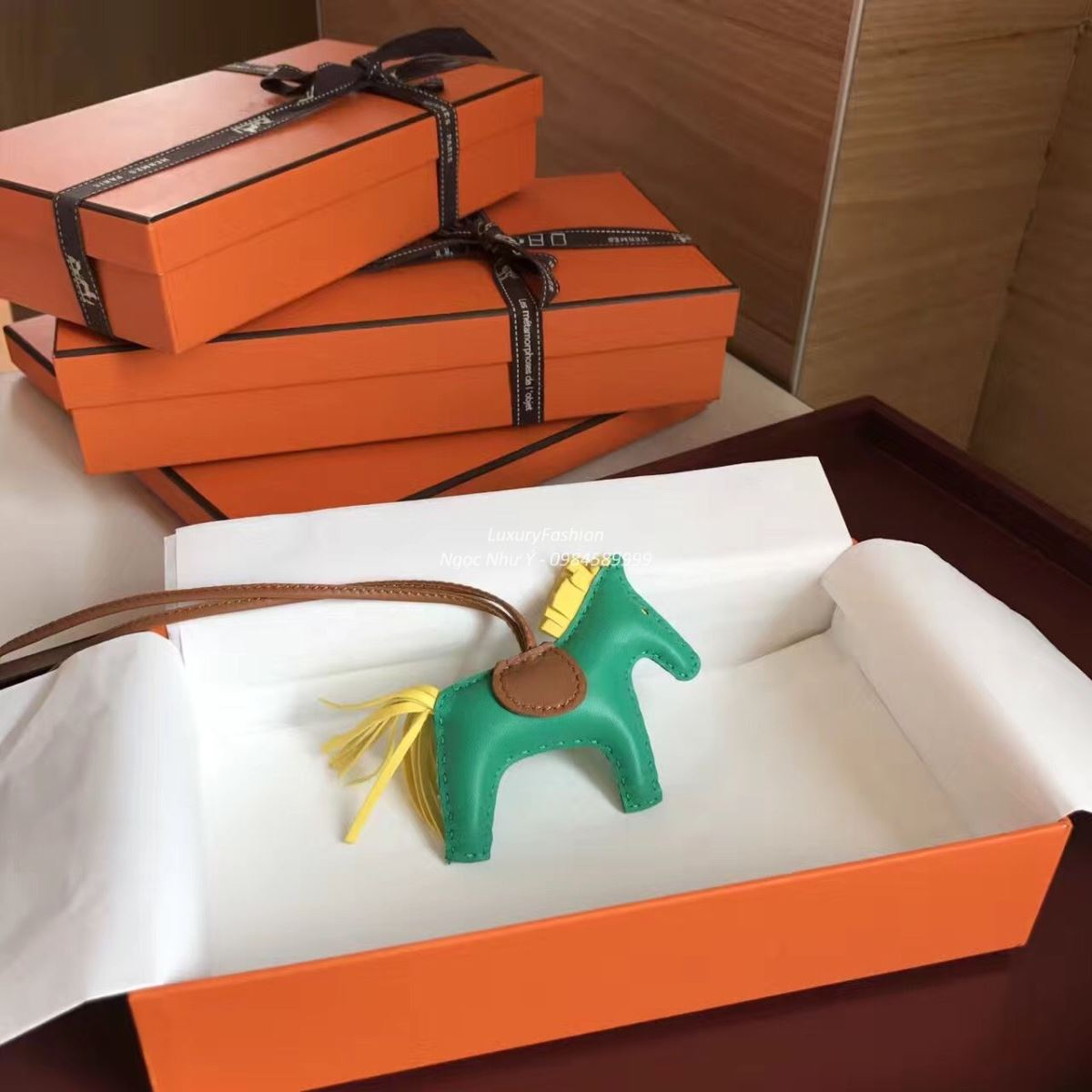 Hermes Bag Charm Rodeo