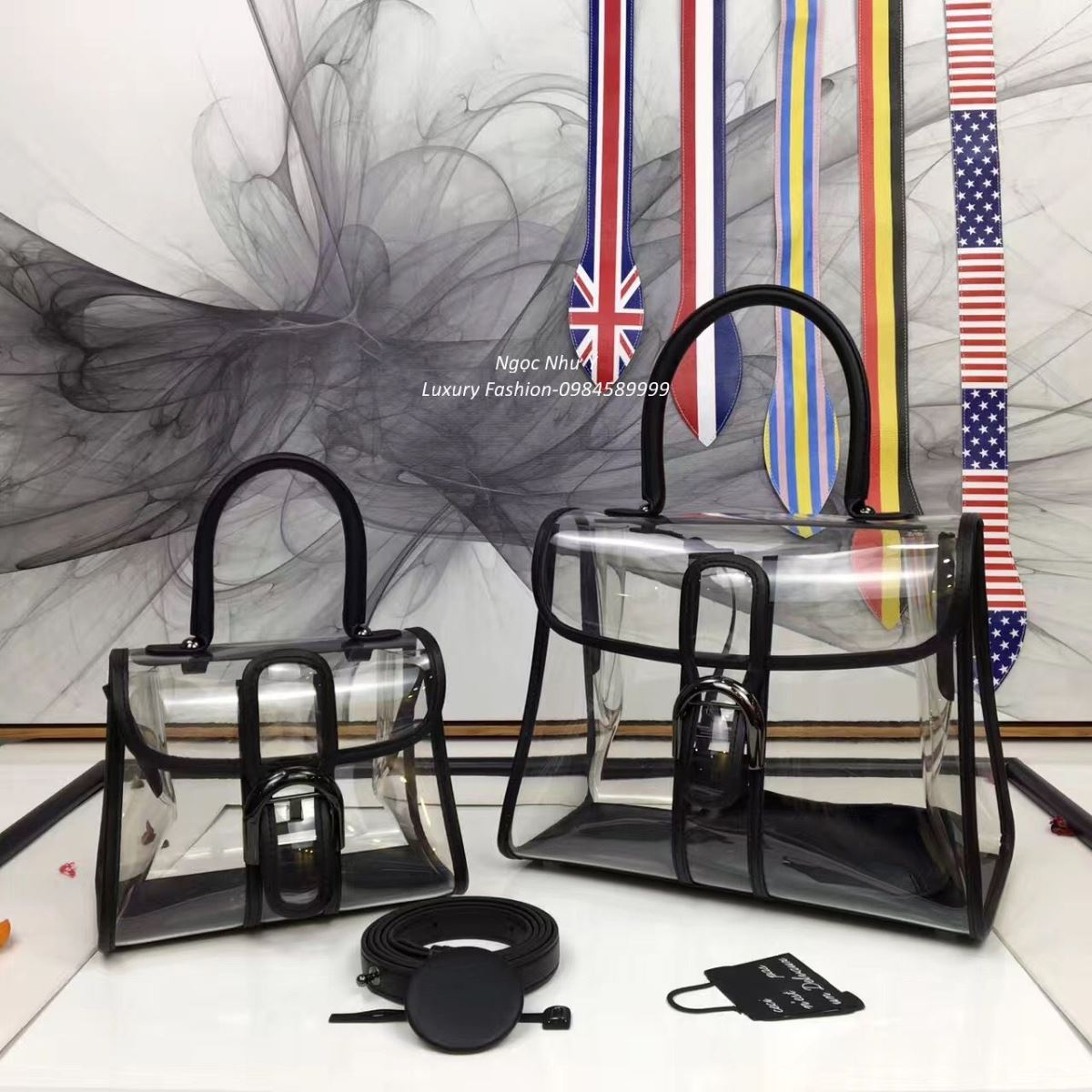Túi Delvaux Brillant X-Ray