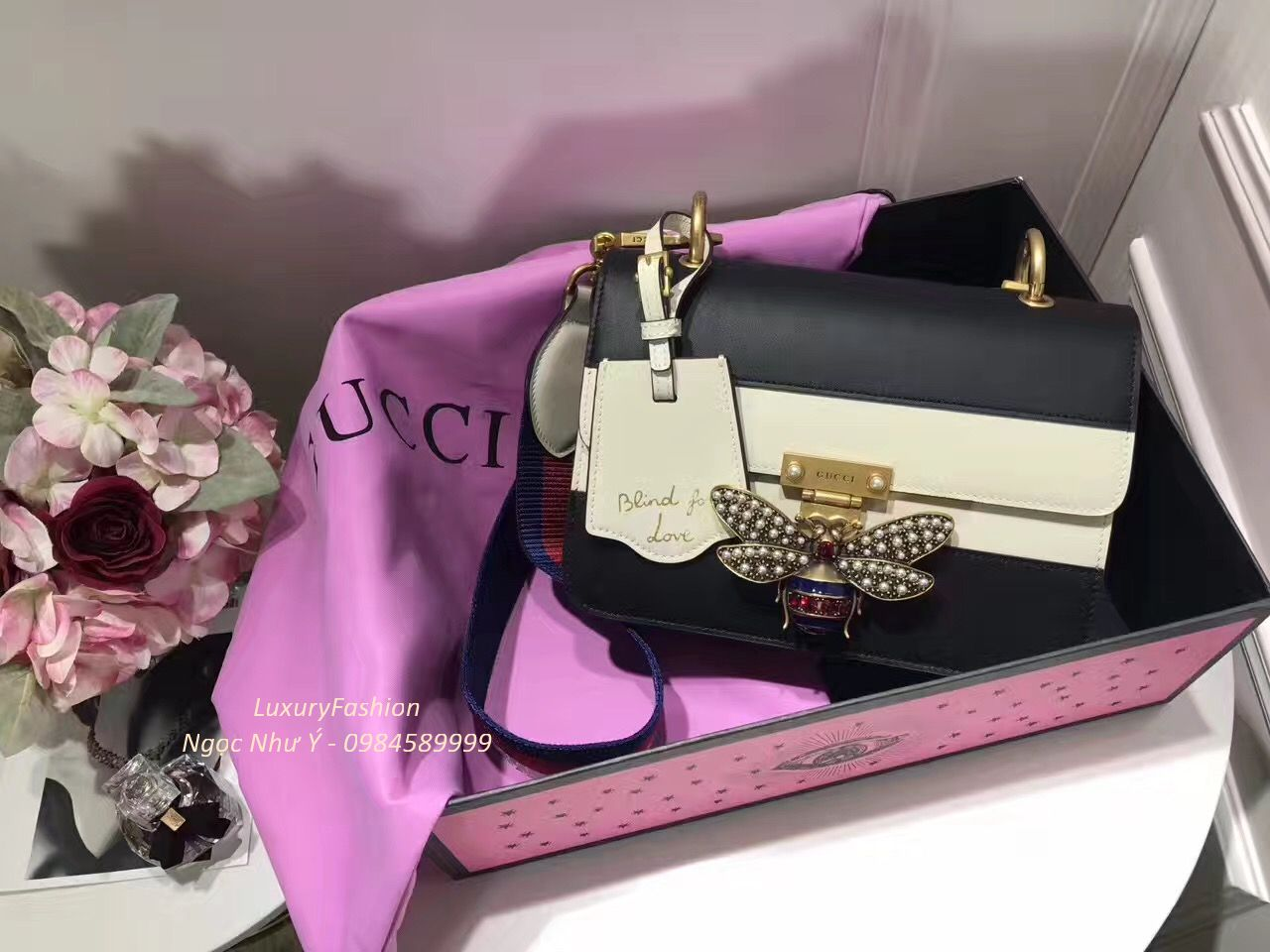Túi Gucci Queen Margaret Shoulder