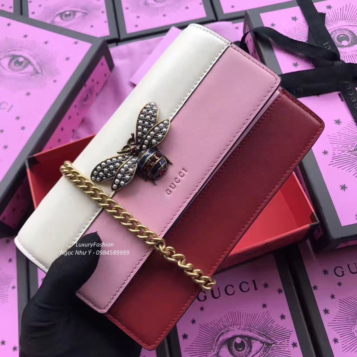 Túi Gucci Queen Margaret Mini
